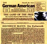 """The German American"" - Artikel von Heinrich Mann - USA Juni 1942"